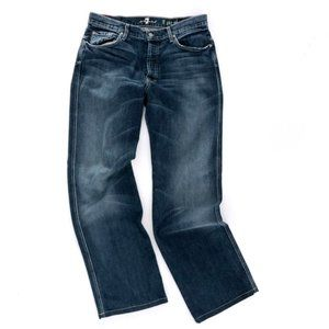 "7 FOR ALL MANKIND Men's ""A"" Pkt Relaxed Jeans 36"